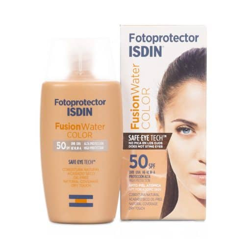 Comprar online Fotoprotect isdin spf50 fus wat col 50ml